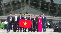 Đội tuyển Việt Nam thắng lớn tại Olympic Hoá học quốc tế 2017