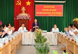 Chủ tịch Quốc hội thăm, làm việc tại huyện Côn Đảo