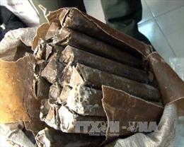 Bắt khẩn cấp đối tượng vận chuyển 50kg thuốc nổ loại cực mạnh