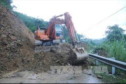 Điện Biên: Mưa lớn khiến QL12 và 4H sạt lở, nguy cơ bị chia cắt