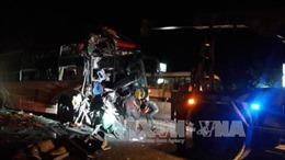 Xe khách giường nằm tông nhau, 3 người chết, nhiều người bị thương