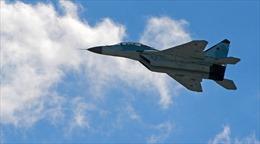 Xem phiên bản mới nhất MiG-35 phô diễn 'tuyệt kĩ' tại triển lãm hàng không MAKS 2017
