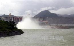 Thủy điện Tuyên Quang được mở 1 cửa xả xả đáy vào 14 giờ ngày 22/7