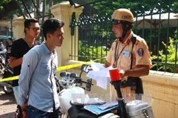Không tăng mức xử phạt hành chính trong lĩnh vực giao thông từ ngày 1/8