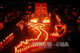 TP Hồ Chí Minh thắp 50 ngàn ngọn nến tri ân các anh hùng liệt sỹ