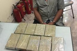 Bắt giữ đối tượng vận chuyển 13 bánh heroin