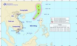 Áp thấp nhiệt đới đang xa dần Việt Nam