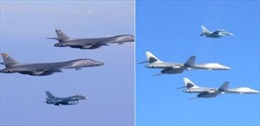 Chiến đấu cơ Mỹ-Nhật-Hàn quần thảo Bán đảo Triều Tiên khoe sức mạnh