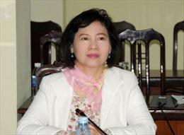 Kiến nghị xem xét miễn nhiệm các chức vụ của đồng chí Hồ Thị Kim Thoa