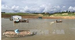 Hỗ trợ các hộ nuôi cá lồng sau vụ cá chết bất thường ở hồ thủy điện Pleikrông