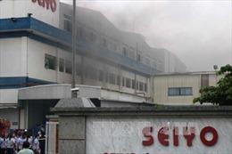 Dập lửa, cứu hàng trăm công nhân tại Khu Công nghiệp Quế Võ 1, Bắc Ninh