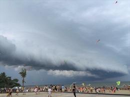 Trung tâm Khí tượng Thủy văn giải đáp về đám mây kỳ lạ ở Thanh Hóa