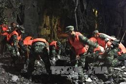 Điều chỉnh tour du lịch đến vùng bị động đất ở Trung Quốc