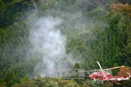 Rơi máy bay tại miền Tây Nhật Bản, 2 người thiệt mạng