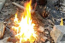 Khắc phục sự cố giếng nước bốc cháy do rò rỉ cây xăng ở Đồng Nai