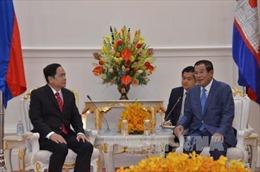 Lãnh đạo Campuchia tiếp Chủ tịch Mặt trận Tổ quốc Việt Nam