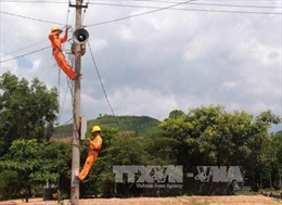 100% số xã ở các tỉnh Tây Nguyên đã có điện lưới quốc gia