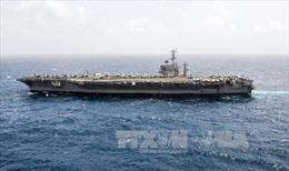 Iran bác bỏ máy bay không người lái bay sát tàu sân bay Mỹ