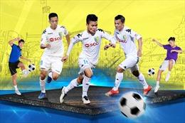 Bóng đá đường phố lần đầu tiên tổ chức giải trên phố đi bộ Hà Nội