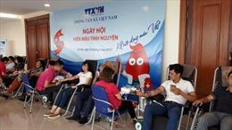 Thông tấn xã Việt Nam với ngày hội hiến máu tình nguyện 2017