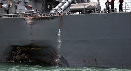 Kết luận bất ngờ về hậu quả nghiêm trọng từ các vụ tai nạn tàu khu trục Mỹ