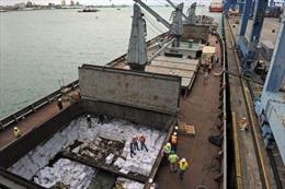Tàu hàng Triều Tiên hai lần chở vũ khí hóa học tới Syria?