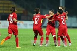 SEA Games 29: Chiến thắng đội chủ nhà 6-0, bóng đá nữ Việt Nam đăng quang vô địch