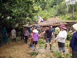 Các địa phương khẩn trương khắc phục hậu quả bão số 6