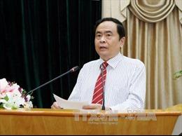 Chủ tịch Ủy ban Trung ương MTTQ Việt Nam làm việc tại tỉnh Lai Châu