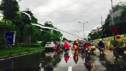 Bắc Bộ mưa dông diện rộng từ đêm 9/9, Hà Nội dễ xảy ra gió giật mạnh