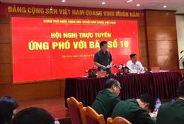 Phó Thủ tướng Trịnh Đình Dũng chỉ đạo họp khẩn cấp ứng phó cơn bão số 10