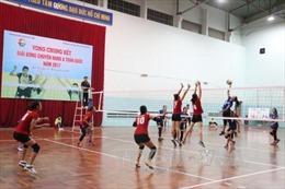 Vòng chung kết Giải bóng chuyền hạng A toàn quốc năm 2017