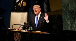 Bị dọa tấn công hạt nhân, Tổng thống Trump thề 'hủy diệt' Triều Tiên trước Đại hội đồng