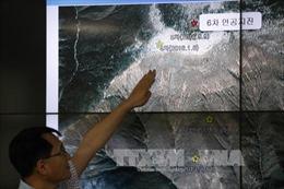 Động đất mạnh 3,4 độ Richter ở Triều Tiên sau lời đe dọa thử bom H