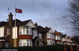 Cảnh sát Anh kích nổ chiếc ba lô nghi vấn đặt bên ngoài Đại sứ quán Triều Tiên