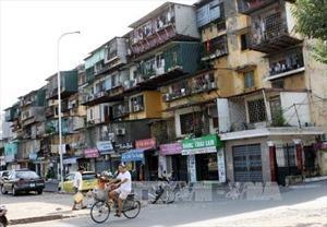 Bức tranh chung cư tại Hà Nội