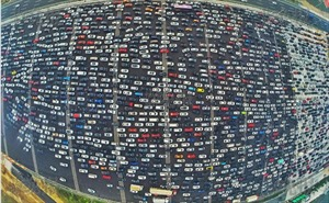 Kinh hoàng tắc đường tại Trung Quốc sau nghỉ lễ Quốc khánh