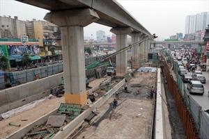 Hoàn thành Hầm chui QL 6 -Thanh Xuân đúng ngày Tất niên