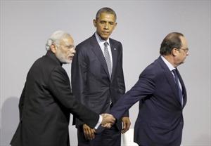 """Hình ảnh """"độc"""" bên lề COP21"""