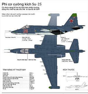 Toàn cảnh cường kích Su-25