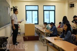 Hơn 887.000 thí sinh đến trường thi làm thủ tục