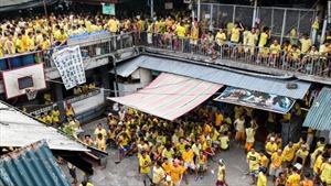 Cuộc sống chen chúc trong nhà tù quá tải ở Philippines