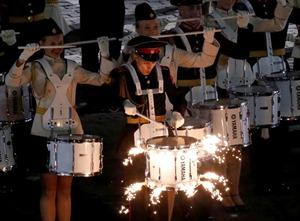 Quảng trường Đỏ xôm tụ hàng chục đoàn quân nhạc quốc tế