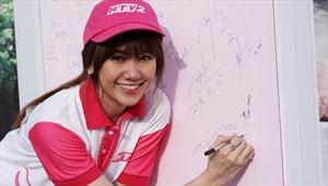 Hari Won hào hứng tham gia chạy bộ từ thiện cùng hơn 10.000 người