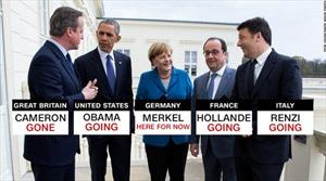 Tấm ảnh lịch sử dự báo sóng thần chính trị năm 2016