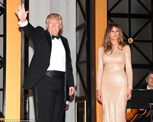 Nhan sắc lộng lẫy của bà Melania Trump sát giờ chồng nhậm chức