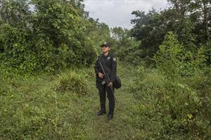 Tuần tra dọc biên giới Mexico cùng nữ quân nhân biên phòng