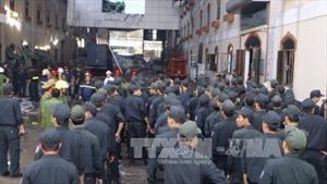 Kwong Lung- Meko di dời tài sản sau hỏa hoạn