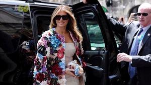 Chiêm ngưỡng những bộ cánh thời thượng của bà Melania Trump