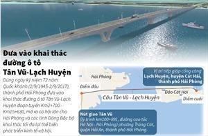 Đưa vào khai thác cầu vượt biển dài nhất Việt Nam